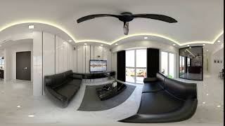 360 view For interior design