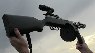 Custom Airsoft PPSH - Airsoft Heretics are gonna love this.
