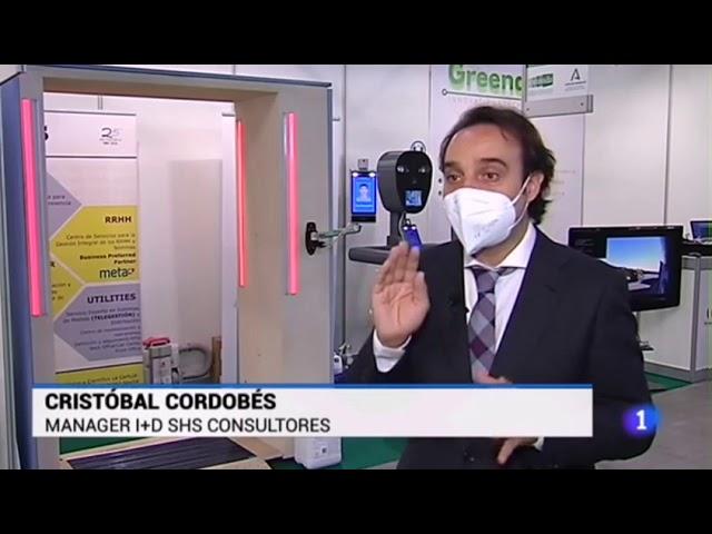 Cristobal Cordobés de SHS Consultores explica las soluciones presentadas en Greencities 2020