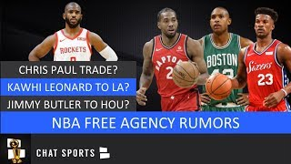 NBA Free Agency Rumors On Chris Paul Trade, Kawhi Leonard & Lakers, Al Horford & Jimmy Butler Latest