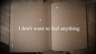 I don't want to feel anything (Ink's Music Diary/12 Jan 2017)