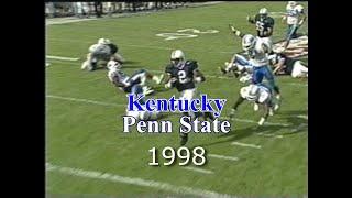 Penn State vs  Kentucky (Outback Bowl) 1998 GAME STORY