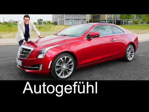 Cadillac ATS Coupé 2.0t AWD FULL REVIEW test driven 2016 - Autogefühl