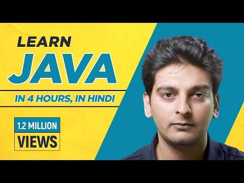 Java Tutorial for Beginners in Hindi | Java in Hindi | Java Tutorial in Hindi | Java full course