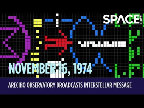 OTD in Space – Nov. 16: Arecibo Observatory Broadcasts Interstellar Message
