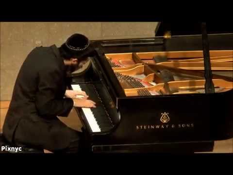 Pianist Mikhail Pais performing the Alter Rebbe's Niggun (Chassidic Melody):