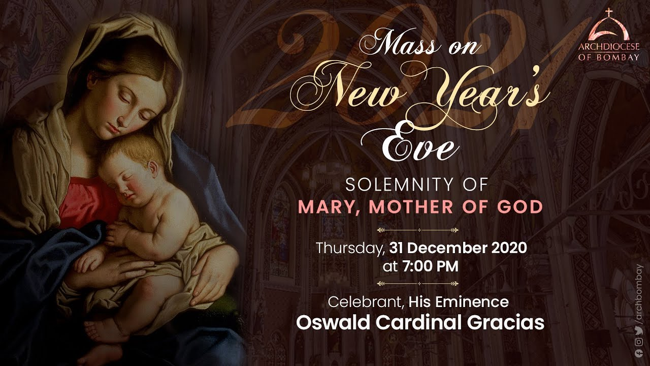Archdiocese of Bombay New Year's Eve Mass 31 December 2020, Archdiocese of Bombay New Year's Eve Mass 31 December 2020, Premium News24