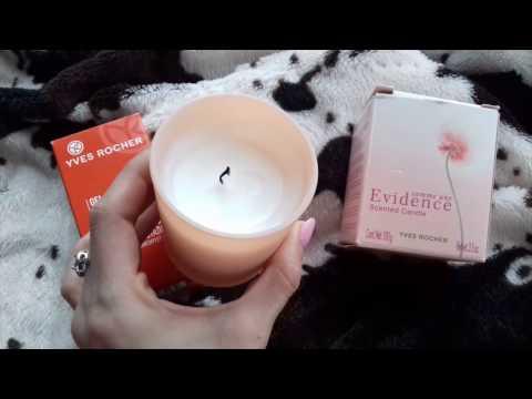 Парюмированные свечи Yves Rocher гель для лица анти-усталость для мужчин