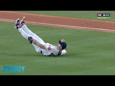 Verlander throws the ball at his own leg, a breakdown