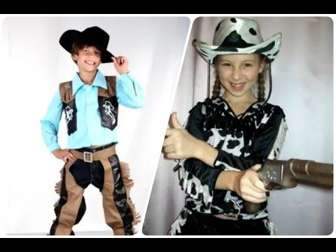 disfraces para niños de vaqueros - #halloween