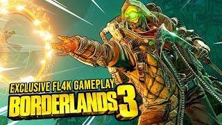 Borderlands 3 - FL4K NEW GAMEPLAY FIRST IMPRESSIONS!