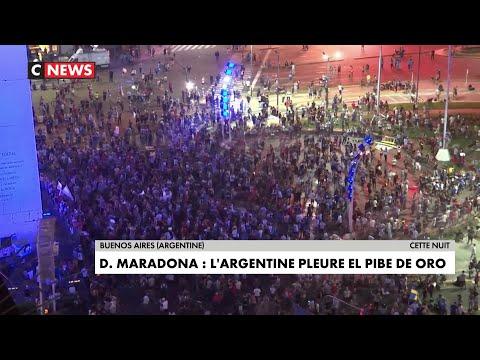 Mort de Diego Maradona : l'Argentine pleure El Pibe de Oro Mort de Diego Maradona : l'Argentine pleure El Pibe de Oro