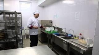 """Работа кухни ресторана """"Эрмитаж"""" согласно сертификации HACCP"""