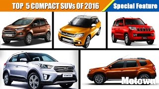 Top 5 Compact SUVs To Buy This Summer (2016)   Special Feature   Motown India