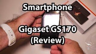 Test: Gigaset GS170 Smartphone (Caulius probiert es aus: Review deutsch 4K)