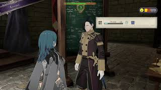 Fire Emblem Three Houses Instruct Praise Hubert Reason and Authority