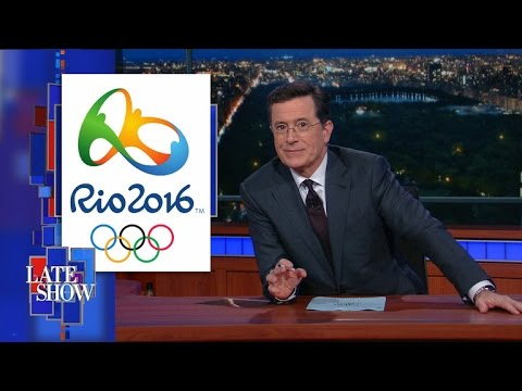 Stephen Colbert Explains Why The Rio Olympics Could Be A 'Massive Catastrophe'