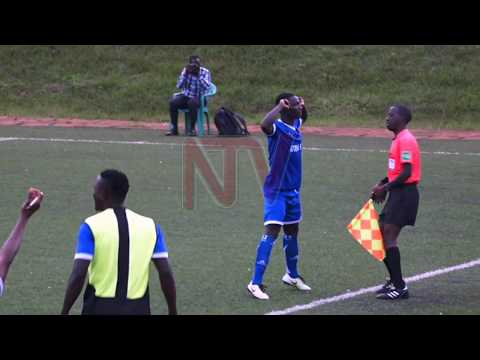 URA EASE PAST BUL: Rwothomio scores twice to hand tax collectors a 3-1 win
