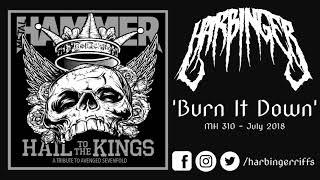 HARBINGER - BURN IT DOWN (Avenged Sevenfold cover) - MH310 Hail To The Kings