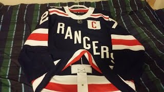 *In Depth Review*  Ny Rangers 2018 authentic winter classic jersey