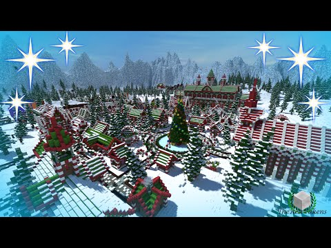 Christmas Minecraft World.Thereawakens Santa S Gingerbread Christmas City Download