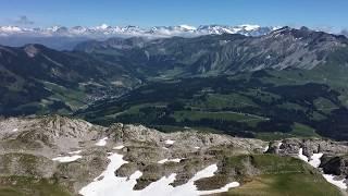シュラッテンフルー頂上からの絶景【スイス情報.com】