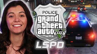 "Police Officer Plays As A Cop in ""Grand Theft Auto V"" • Pro Play"