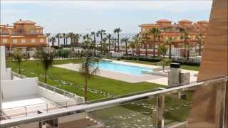 preview picture of video 'Ref. AL75 - Apartment for rent/Appartement te huur in Cabo Roig, Orihuela Costa, Spain'