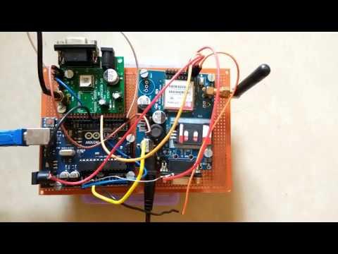 GPS Tutorial–Sending GPS Coordinates over GSM - смотреть