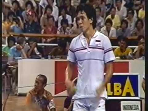 1984 Thomas Cup Final Classic set 3 -Luan Jin vs Liem Swie King pt 2 of 2 Finale