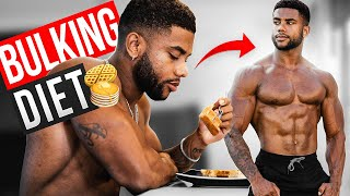 BULKING Full Day Of Eating To Gain Muscle   3000+ Calories