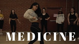 Medicine   Jennifer Lopez Ft French Montana DANCE VIDEO | Dana Alexa Choreography