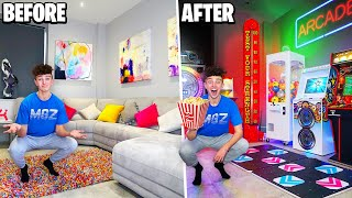 I Built the ULTIMATE GAMES ARCADE in my House! *$10,000*
