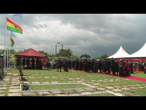 Final farewell to Kofi Annan at Ghana state funeral