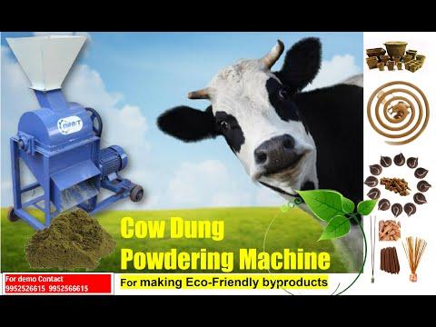 Animal Manure Powder Making Machine