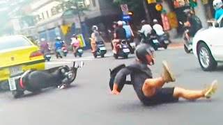 Scooter Crash Scooter Crash Compilation Driving in Asia 2016 Part 6