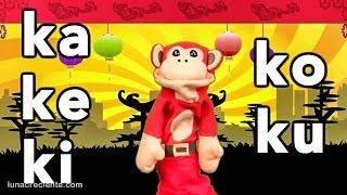 Sílabas Ka Ke Ki Ko Ku - El Mono Sílabo - Videos Infantiles - Educación Para Niños #