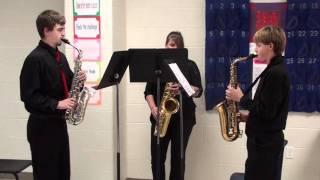 UIL Sax Ensemble - Adagio and Allegretto