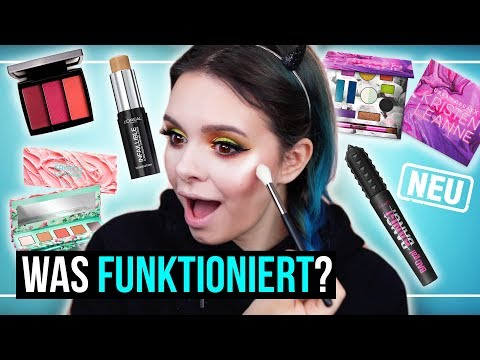 FULL FACE of FIRST IMPRESSIONS - Makeup testen - Drogerie, Urban Decay, ABH, Benefit, ...