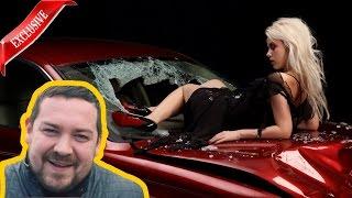 Эрик Давидыч отругал Блондинку с собачкой за аварию