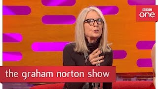 Diane Keaton on Al Pacino being cut from The Godfather - The Graham Norton Show 2017: Preview - BBC