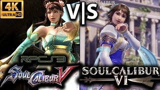 RPCS3 - SoulCalibur IV with PPU Recompiler and Vulkan on i7