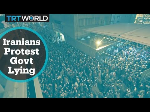 Iranians protest countrywide after Tehran admits shooting down passenger  plane