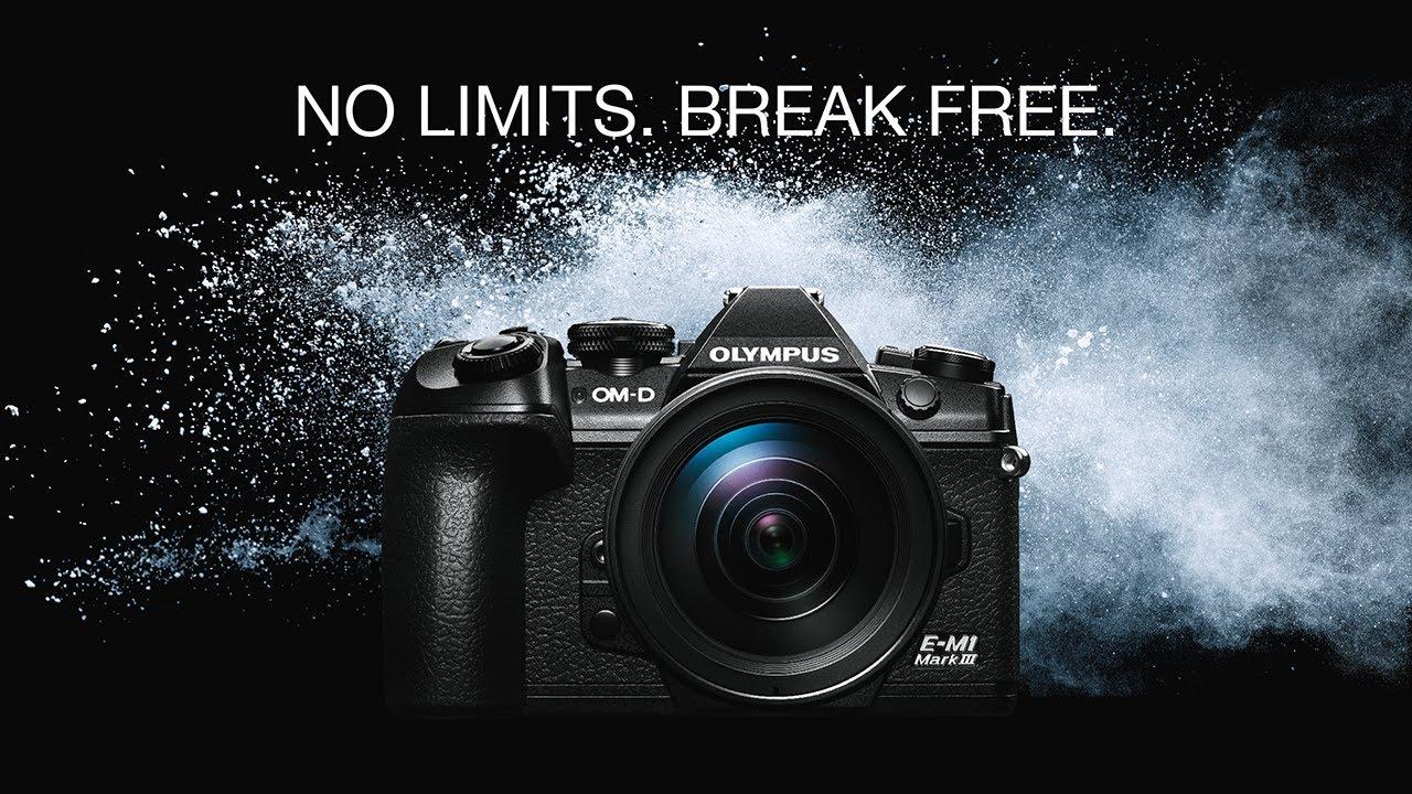 OM-D E-M1 Mark III | No limits. Break free.