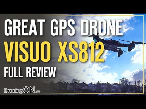 Visuo XS812 GPS/5mbpx Drone Under $90! – Review, Unboxing & Flight Test