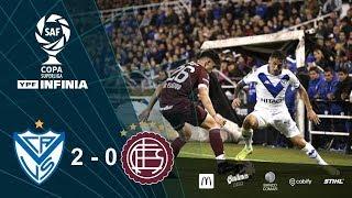 #CopaSuperliga: Resumen De Vélez - Lanús