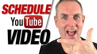 How to upload youtube videos at a certain time