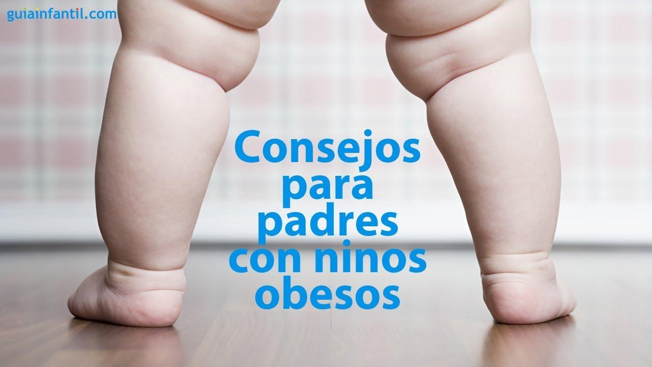 Consejos para padres con niños obesos | #ConectaConTuHijo