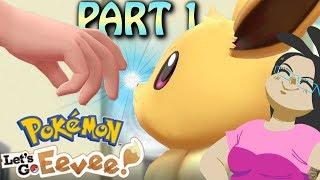 Mari Plays Pokemon Lets Go Eevee! Walkthrough Gameplay Part 1