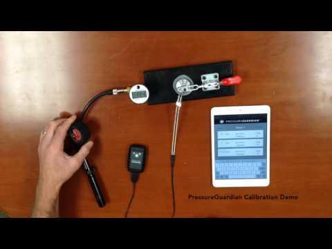 PressureGuardian Calibration Demo Video